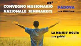 Convegno Missionario nazionale Seminaristi