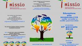 Educazione alla mondialità nelle scuole e nelle parrocchie