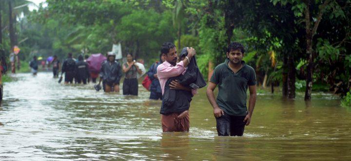 Appello per l'emergenza delle alluvioni in India
