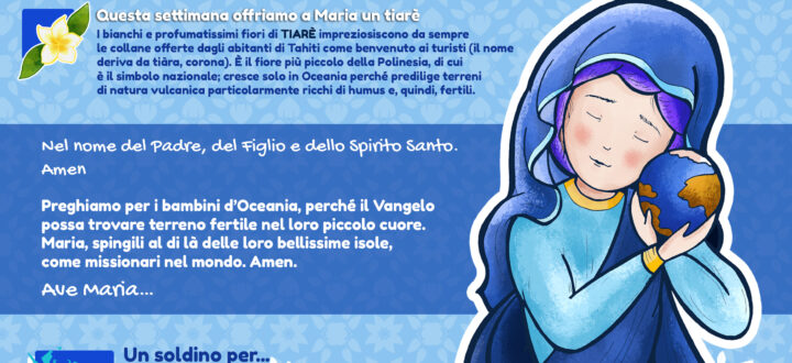 "Terza intenzione di ""Un'Ave Maria per…"": Oceania"
